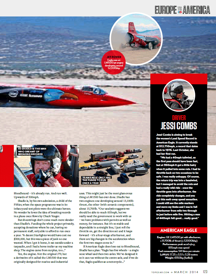 Top Gear magazine article March 2014 - Page 2