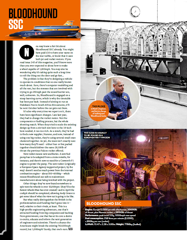 Top Gear magazine article March 2014 - Page 3